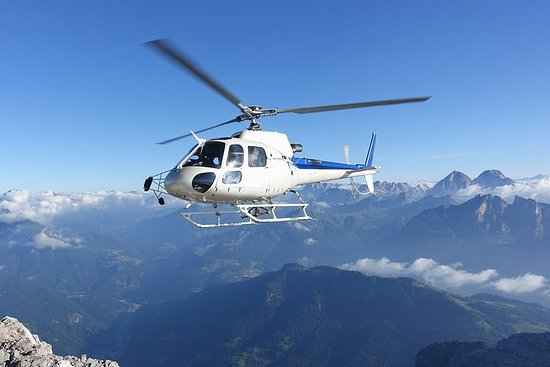 Matterhorn helicopter tour - longest scenic flight from Bern over the...