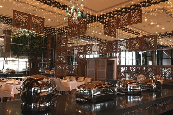 Self Service breakfast in 5 Star Hotel