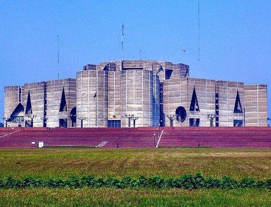 Division de Dhâkâ, Bangladesh: Sophisticated parliament building designed by Louis Isadore Kahn             2012