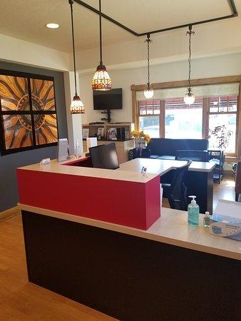 Metro Minneapolis-Saint Paul, Minnesota: Inside our cozy clinic.
