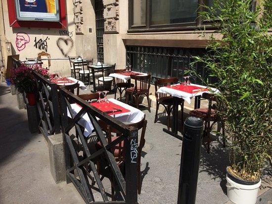 Terrasse rue St-Marc