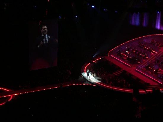 Michael Buble' concert in 2019