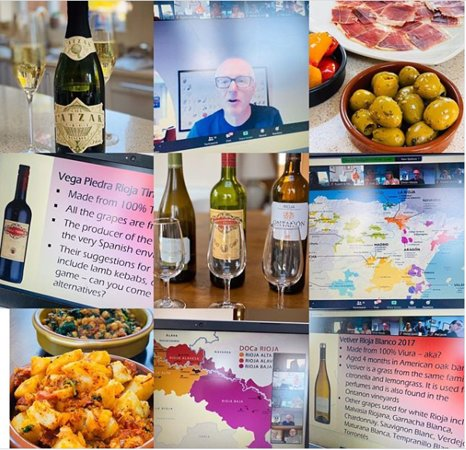 great online tasting about Rioja