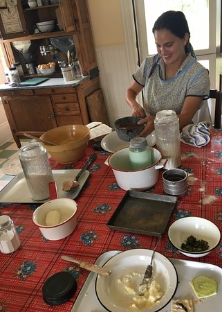 Never know what might be cookin' in our historic Hart-Decany Farmhouse.