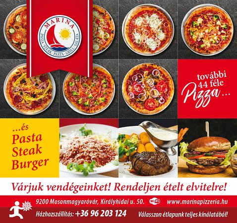 Mosonmagyarovar, Ungarn: Marina Pizzéria & Steakhouse