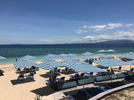 Malamala Beach Club: beach lounge chairs