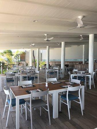 Malamala Beach Club: inside the restaurant