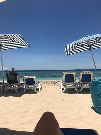 Malamala Beach Club: view of the ocean from the beach