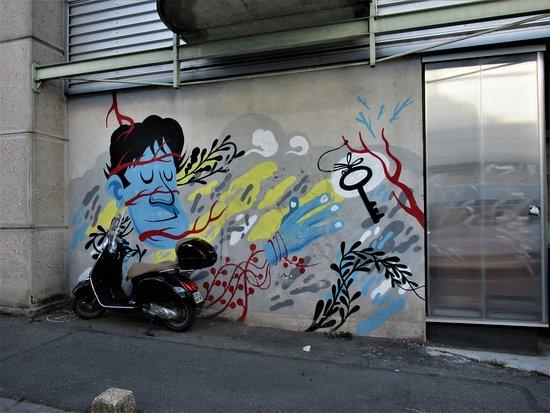 """Fresque """"Parcours Montreuil 2015"""""""