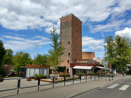 Frombork, Ba Lan: Otoczenie Wieży Wodnej