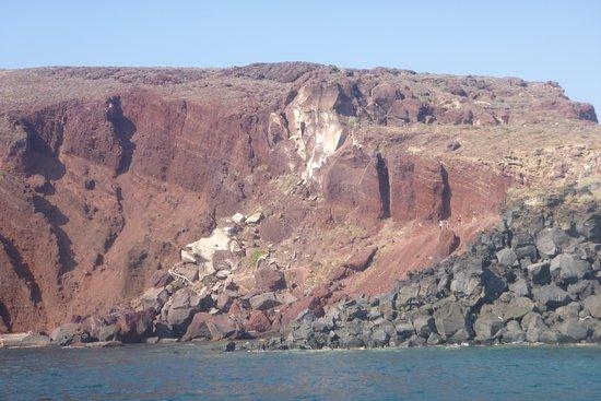 Santorini Privé Day Cruise: Black Beach