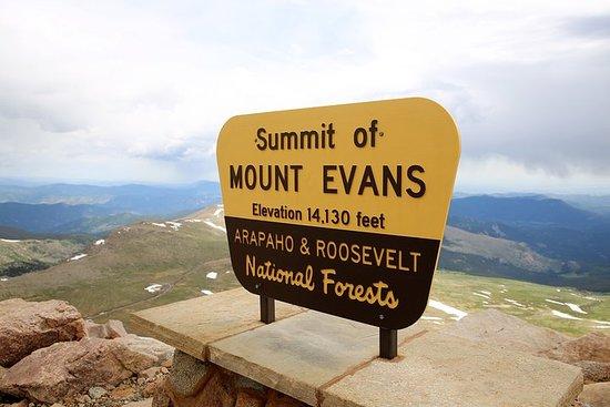 Visite du mont Evans et des Red Rocks...