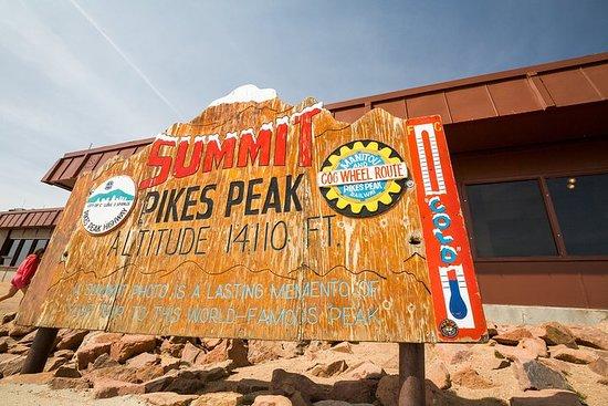 Tour privato di Pikes Peak e Garden of the Gods da Denver