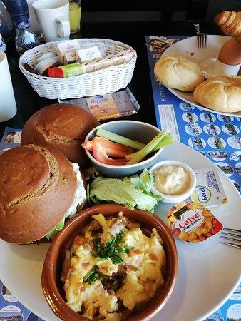 Glutenvrij ontbijt in het hotel