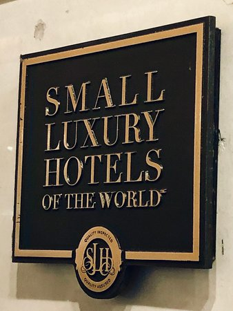 "Member of ""Small Luxury Hotels of the World"""
