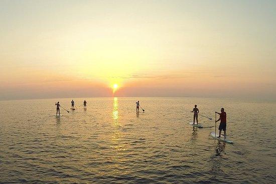 SUNRISE PADDLE TOUR by Paddle Surf Zante on Alykes Beach Zakynthos...