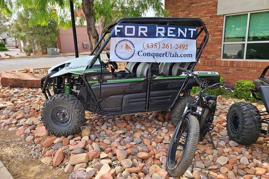 Conquer Utah Adventure Rentals