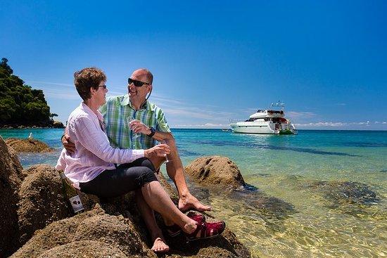 Private boat charter in Abel Tasman National Park