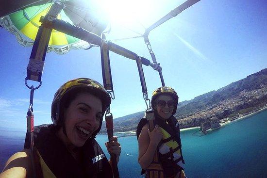 Double Parasailing flight to Tropea...