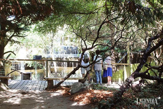 Cascade de Legendia Parc