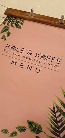 Kale & Kaffe Menu
