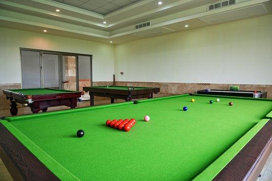 Babolsar, Iran: Billiard room