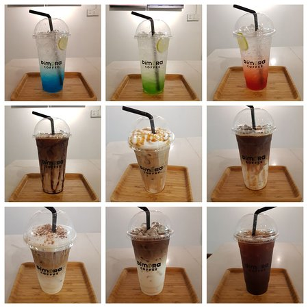Dear customers, These are some iced coffee and soda, available at our shop. We do hope you will kindly come and try. Hope you will like them.