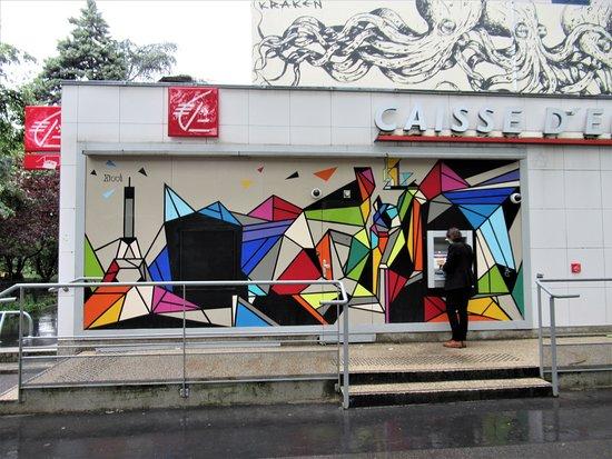 """Fresque """"Géométrie colorée-02"""""""