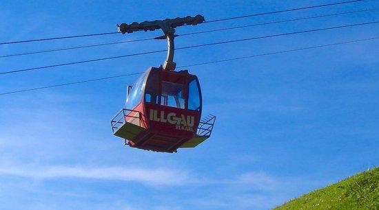 Téléphérique depuis Illgau jusqu'à Vorderoberberg St.Karl (canton de Schwyz)