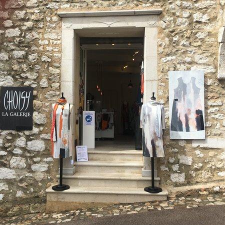 St-Paul-de-Vence, France: Choisy la galerie