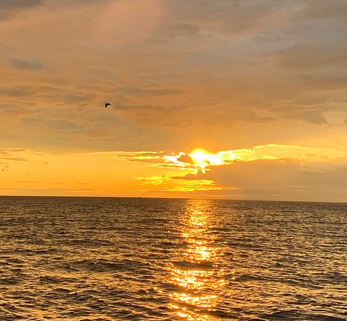 Sunrise over Saco Bay, Maine