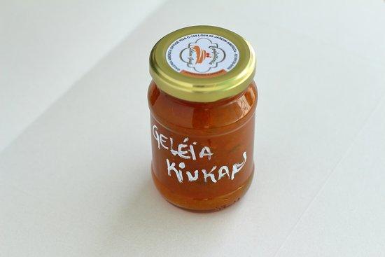 Geléia de laranja kinkan