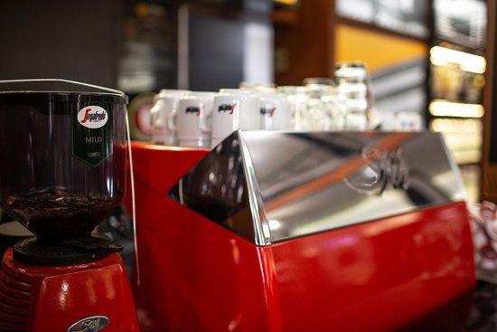 Kávépult az Átrium Bisztróban