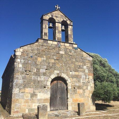 Chiesa romanica di Santa Maria ( XIV secolo )- Lunamatrona.
