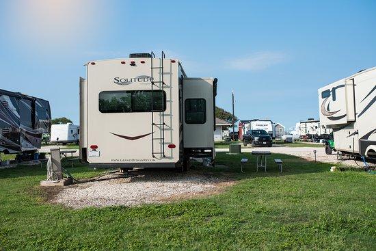 Campsite 113 back-in exterior