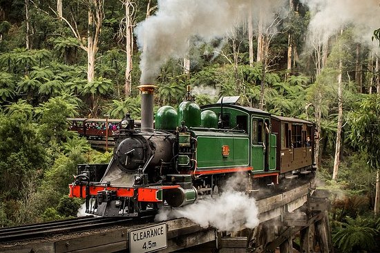 Small Group - Dandenong Ranges, Puffing...