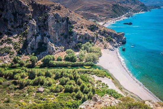 Preveli Palm Beach From Chania...