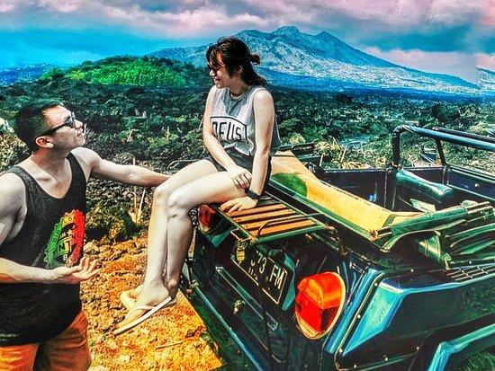 Kintamani, Indonesia: Enjoying day Bali Batur Volcano tour...  Awesome... Make trip using convertible Classic VW Car...  Make your memorable holiday..  WWW.BALICLASSICVWTOUR.COM info@baliclassicvwtour.com WhatsApp: +62 81337090377