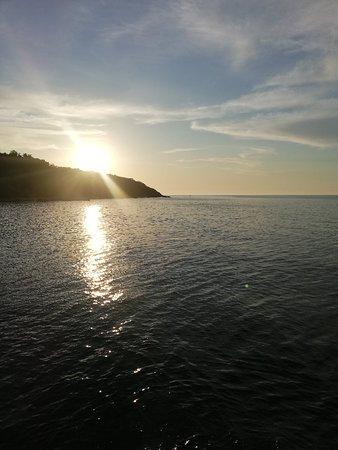 Denizle iç içe huzur ve mutluluk