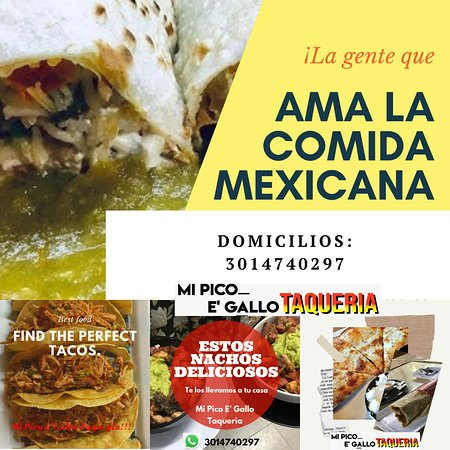 Tacos, Nachos y Quesadillas