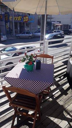 Bela Vista do Toldo, SC: Filial do Restaurante Sapori na rua Major Vieira, 345, Centro de Canoinhas