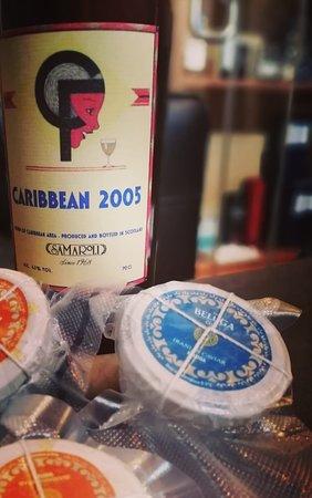 Cavair pairing with vintage rums