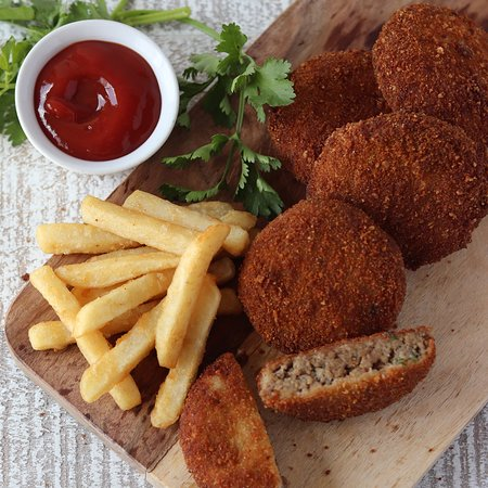Beef Cutlets & Fries