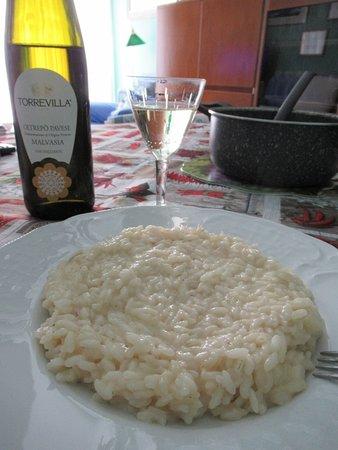 L'abbinamento col risotto al Pannerone