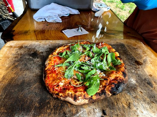 Wood-fired pizza. every Friday 4-7