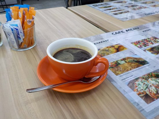 Caulfield South, Australia: Long black coffee
