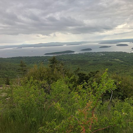 Was nice day in Cadillac Mountain