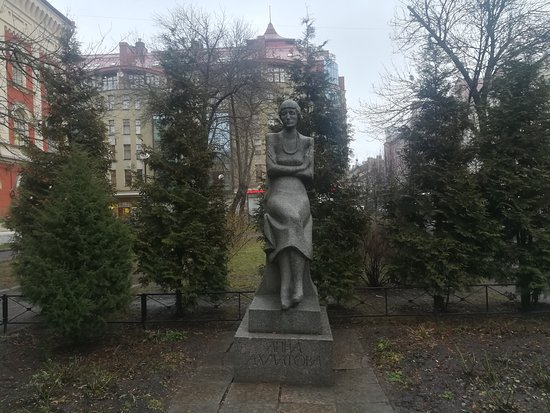 Monument to Anna Akhmatova