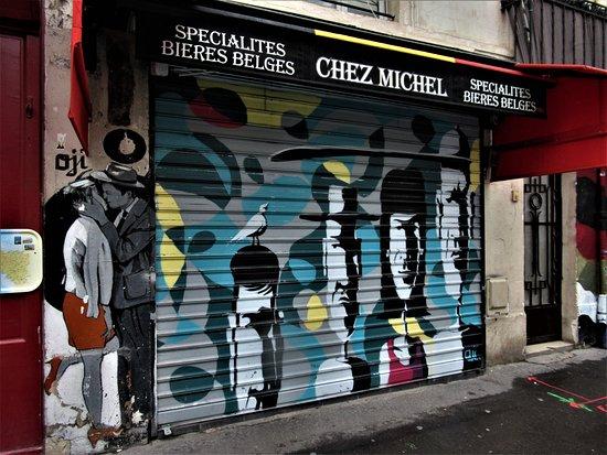 """Fresque """"Les Dalton"""""""