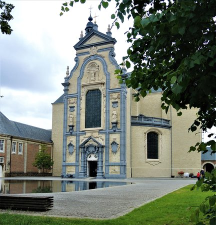 Een prachtige barokke kerk
